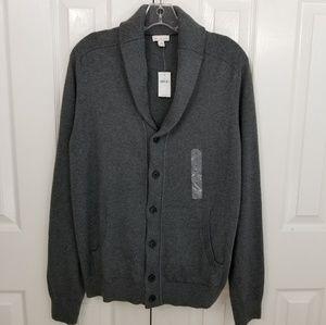 Gap NWT cotton cashmere blend Men's cardigan